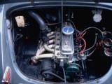 4-Cylinder Renault Engine on the 4 CV Photographic Print