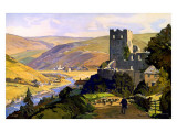 North East Dales, 1930 Giclee Print by E Byatt
