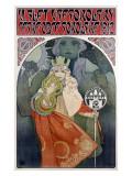 Affiche de Mucha, 1912 Reproduction procédé giclée par Alphonse Mucha