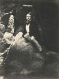 Victor Hugo to the Rock of Exiles Photographic Print
