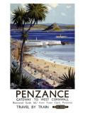 Penzance Giclee Print by Harry Riley