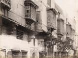 Wooden Balconies (Moucharabieh) in Cairo (Egypt) Fotografie-Druck
