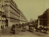 Paris, Rue De Rivoli Photographic Print by Leon Levy
