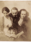 Family Victor Hugo Photographic Print
