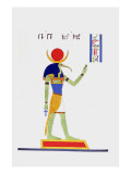 Thout Thoth Twice as Large Reproduction procédé giclée par Jean-Fran?s Champollion