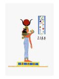 Athor or Hathor Giclee Print by Jean-Fran?s Champollion