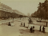 Paris, The Tuileries Garden Photographic Print by Brothers Neurdein