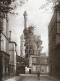 Statue of Liberty in Paris, c.1886 Kunstdrucke