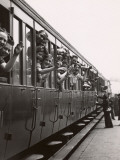 Parisians Leaving by the Train for the Three-Day Pentecost Week-End (1939) Photographic Print