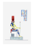 Hathor Ptérophore Giclee Print by Jean-Fran?s Champollion