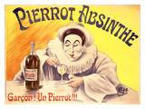 Pierrot Absinthe Giclee Print by  LEM