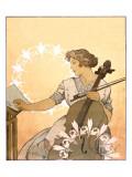 Zdenka Cerny Giclee Print by Alphonse Mucha