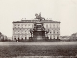 Russia, Statue of Nicolas Ist in St. Petersburg Photographic Print