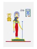 Athor Ou Hathor Giclee Print by Jean-Fran?s Champollion