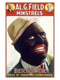 Burt Swor, Minstrel Comedian Giclee Print