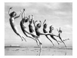Lillian Newman's Dancers Giclée-Druck