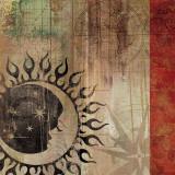 Sun and Moon I Kunstdrucke von Aimee Wilson