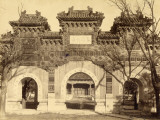 The Hall of Classius (China) Photographic Print by John Thomson