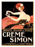 Creme Simone Bath Beauty Giclee Print by Emilio Vila