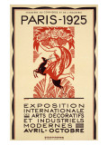 Paris Art Exposition, c.1925 Gicléedruk van Robert Bonfils