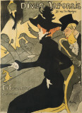 Le Divan Japonais Lminas por Henri de Toulouse-Lautrec