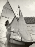 Sailing Pleasures (1951) Photographic Print
