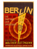 Ruttmann Berlin Symphony of a Great City Reproduction proc&#233;d&#233; gicl&#233;e