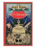 """Jules Verne, """"Foundling Mick"""", Cover Giclée-Druck von Jules Verne"""