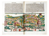 Nuremberg Chronique by Schedel Hartmann, View of Rome Giclee Print by Schedel Hartmann