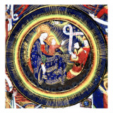 Manuscript of the Hours of Rohan-Montauban: Composition of Several Scenes Giclee Print