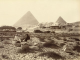 Mena-House Hotel, Next to the Giza Pyramids (Egypt) Fotografie-Druck
