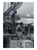 """Jules Verne, """"Hector Servadac"""", Illustration Giclée-Druck von Jules Verne"""