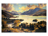 Loch Lomond, LNER and LMS Giclee Print