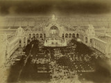 "Paris, 1900 World Exhibition, The Champ De Mars and the Pavillon De L""Electricité De Nuit Photographic Print by Brothers Neurdein"