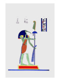 Thout Thoth Twice as Large Giclee Print by Jean-Fran?s Champollion