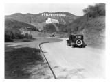 Hollywoodland, Los Angeles c.1924 Digitálně vytištěná reprodukce