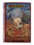 "Jules Verne, ""The Jangada 800 Leagues on the Amazon"", Cover Giclée-Druck von Jules Verne"