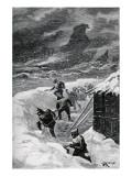 """Jules Verne, """"César Cascabel"""", Illustration Giclée-Druck von Jules Verne"""