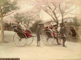 Felice Beato - Noge Hill in Yokohama (Japan) Fotografická reprodukce
