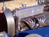 1500 Cm3 Engine with the Compresseur of a Bugatti Type 35, 1928 Model Photographic Print