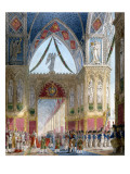 Book of the Coronation by Percier and Fontaine Giclee Print by  Percier and Fontaine
