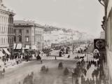 Russia, Nevsky Avenue in St. Peterbourg Fotodruck