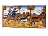 The Book of King Modus and Queen Ratio Giclee Print by Henry de Ferrieres
