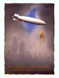 Deutsche Zeppelin-Reederei, c.1936 Wydruk giclee autor Jupp Wiertz
