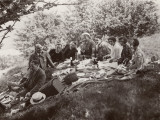 Family Picnic in the Countryside Photographic Print