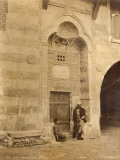 Door of an Arabic House in Cairo (Egypt) Photographic Print by G. Lekegian