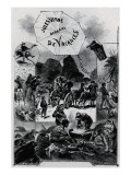 "Jules Verne, ""Two Years Holiday"", Frontispiece Giclée-Druck von Jules Verne"