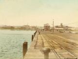 Yokohama Bay (Japan) Fotografie-Druck von Felice Beato