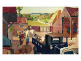Farm Collection and Delivery Services Giclee Print