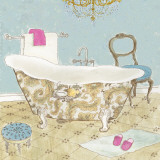 French Bath II Prints by Jocelyn Haybittel